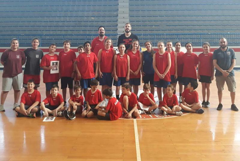 Ο Ζήσης Σαρικόπουλος στο camp του ΑΟ ΣΠΟΡΤΙΓΚ!